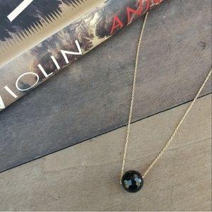 NWT GORJANA Power Bead Onyx Protection Necklace